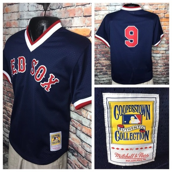 purchase cheap 0a22f 5b990 Ted Williams Boston Red Sox Mitchell Ness Jersey